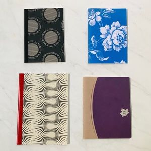 🌺4 Items 25$🌺 Boho Chic Notebook Bundle of 4
